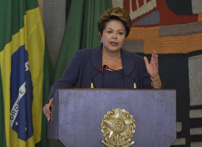 Dilma discute segurança especial na visita do papa