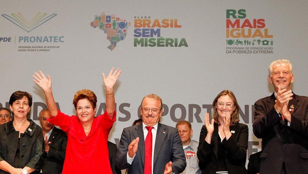 Dilma: quem prega desemprego está equivocado
