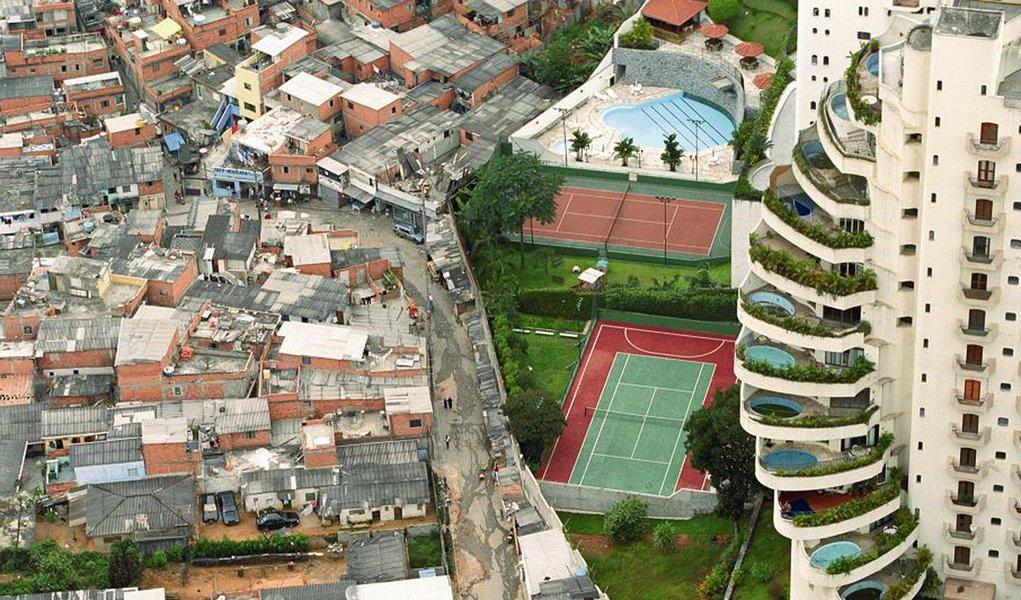 Brasil é o quarto país mais desigual da América Latina