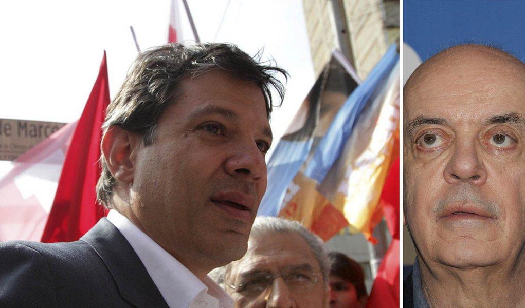 """Haddad fala ao 247: """"Serra foi um não prefeito"""""""