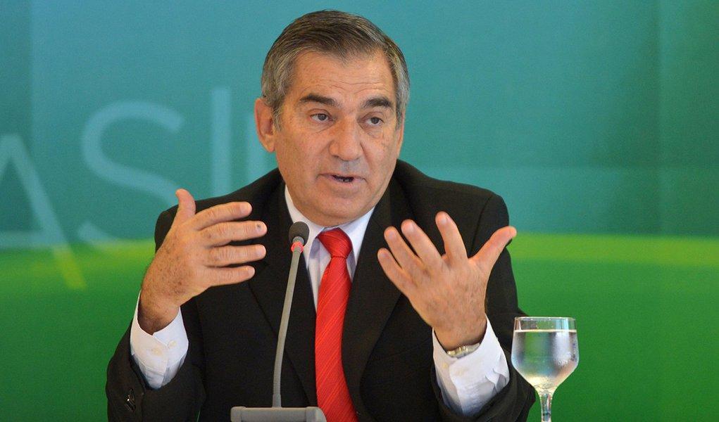 Ministro da Secretaria Geral da Presidencia da República Gilberto Carvalho, participa da reunião do Estágio Preliminar de Preparação da Jornana Mundial da Juventude 2013.