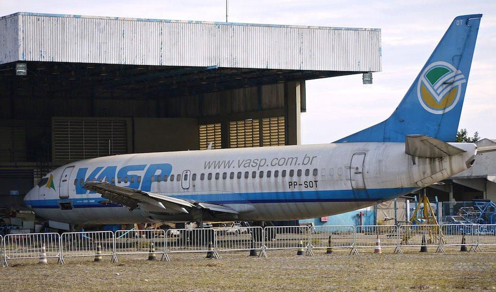 Área do hangar da Vasp era infectada