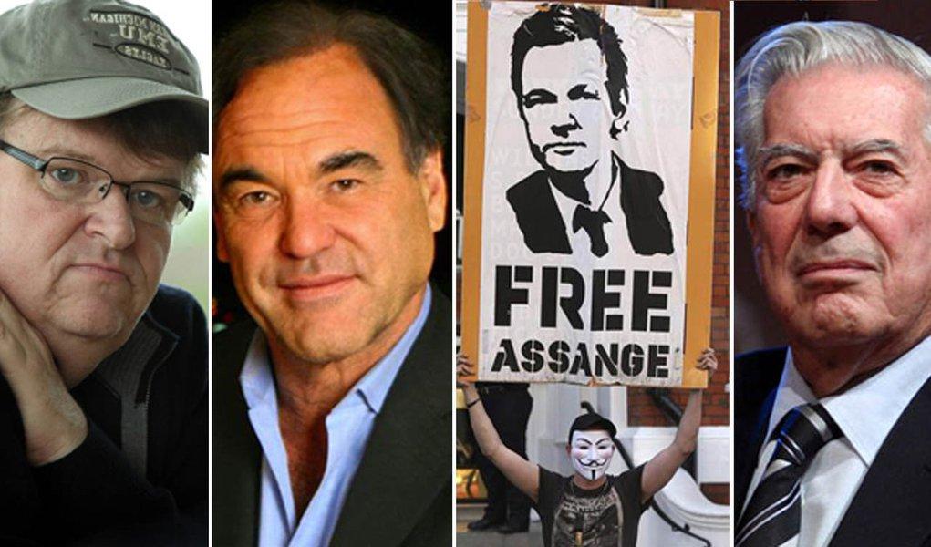 Assange opõe intelectuais e visões sobre liberdade