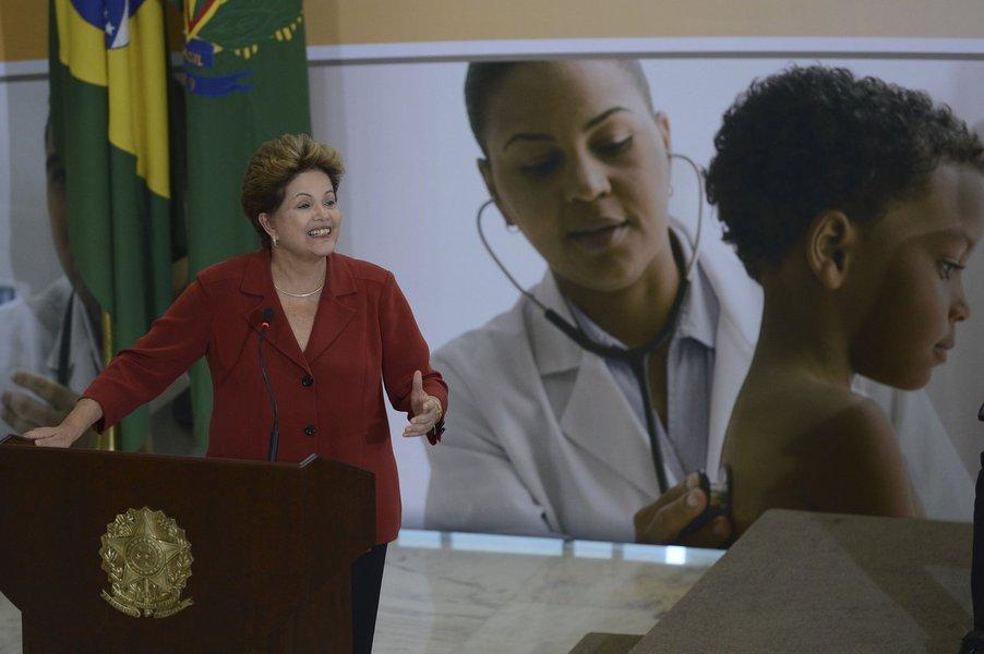 Gripada, Dilma cancela agenda e fica no Alvorada