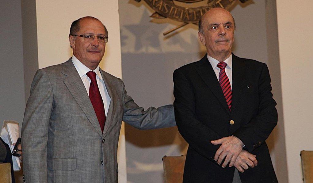 """Alckmin: """"O caminho do Serra é cada vez mais PSDB"""""""