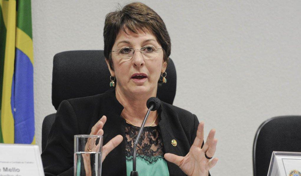 Senadora cobra justiça por morte de fiscais em Unaí
