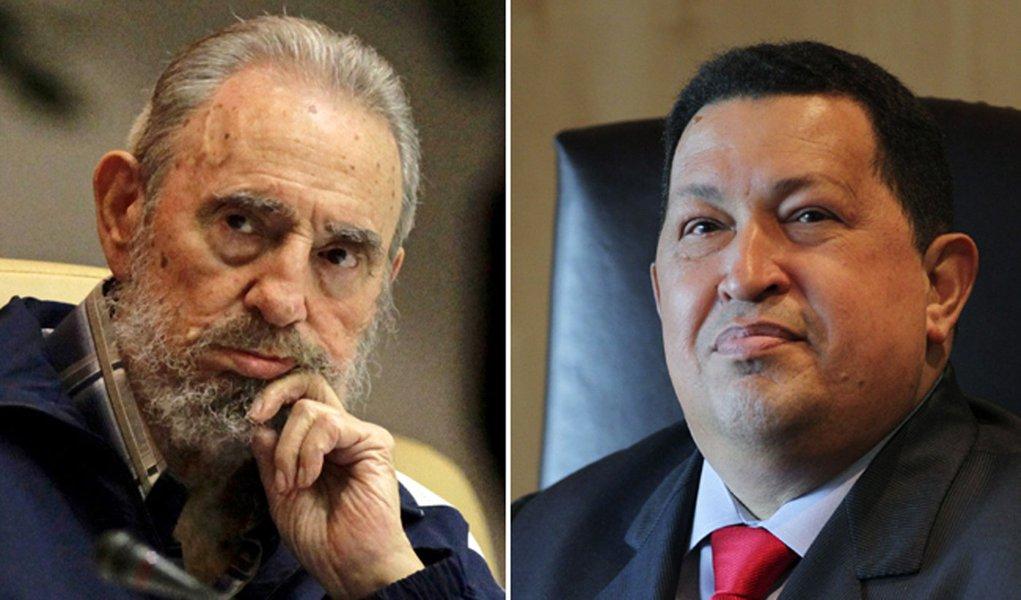 Fidel e Chávez estariam escrevendo livro juntos