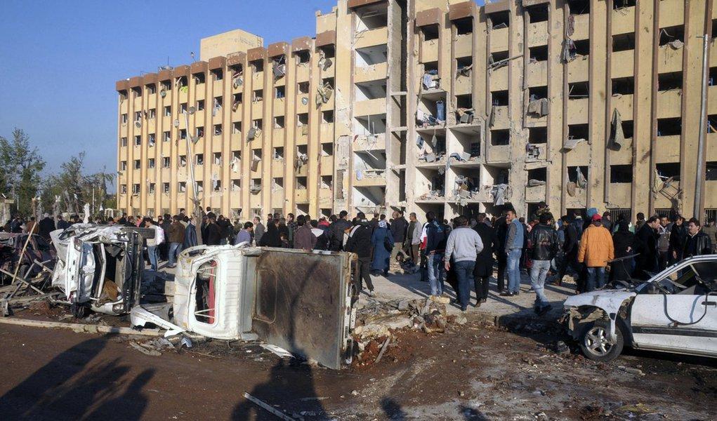 Itamaraty condena morte de civis em atentado na Síria