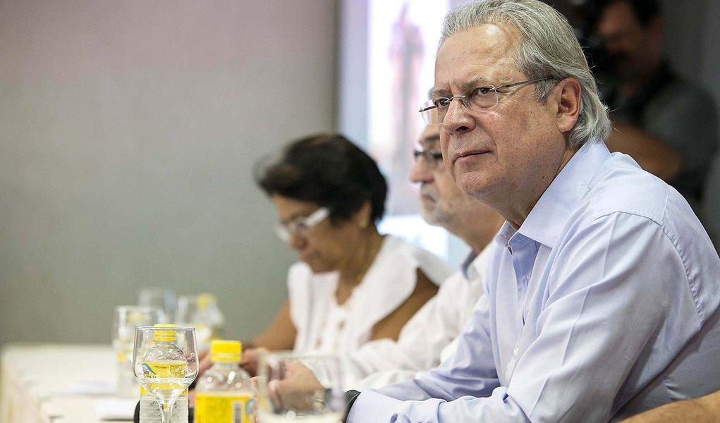 Dirceu: povo não cabe no projeto que a elite quer para o Brasil