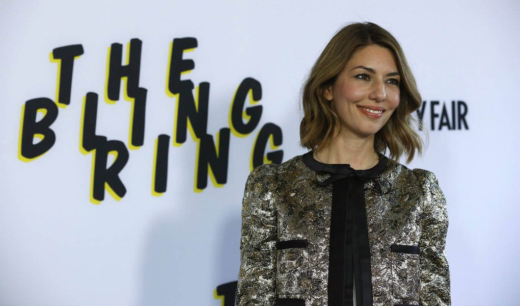 """Director of the movie Sofia Coppola poses at the premiere of """"The Bling Ring"""" at the Director's Guild of America (DGA) theatre in Los Angeles, California June 4, 2013. The movie opens in the U.S. on June 14.  REUTERS/Mario Anzuoni  (UNITED STATES - Tags:"""