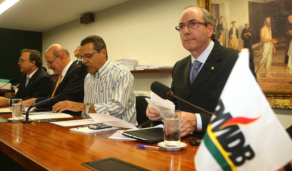 Eduardo Cunha é eleito líder do PMDB na Câmara