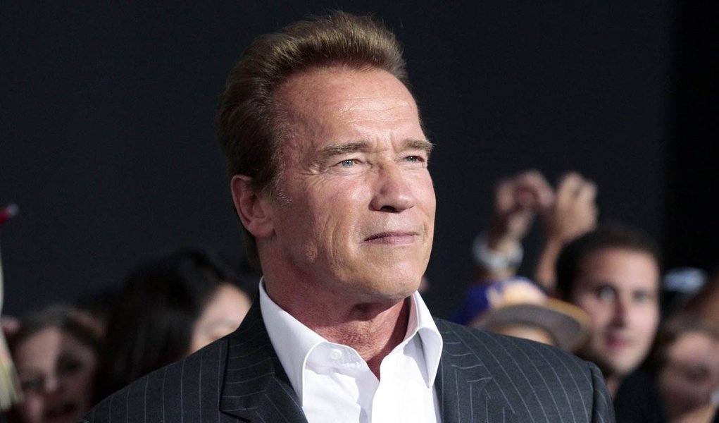 Schwarzenegger está de volta a Hollywood
