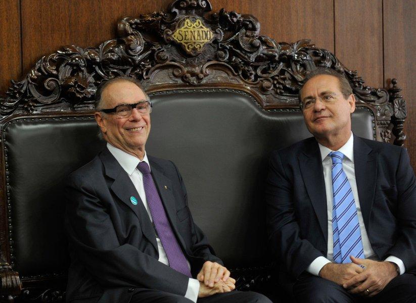 Nuzman convida Renan para visitar obras da Olimpíada