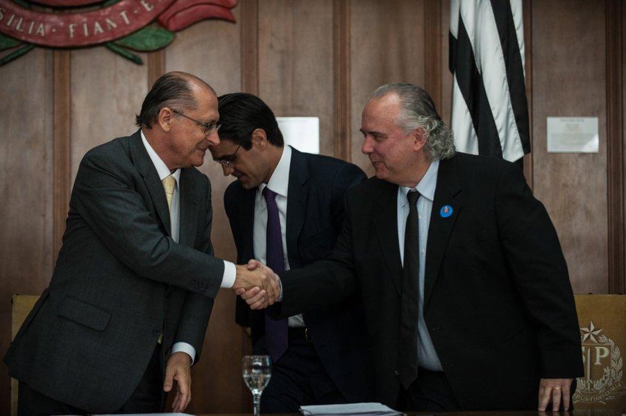 Alckmin destaca segurança ao lançar 'Bolsa Crack'