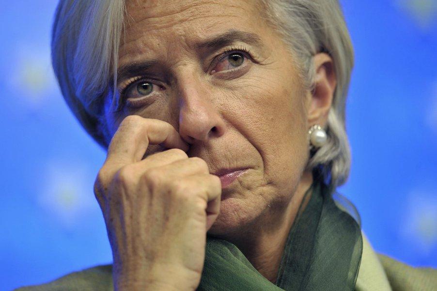 Polícia faz busca em apartamento de Lagarde, do FMI, na França
