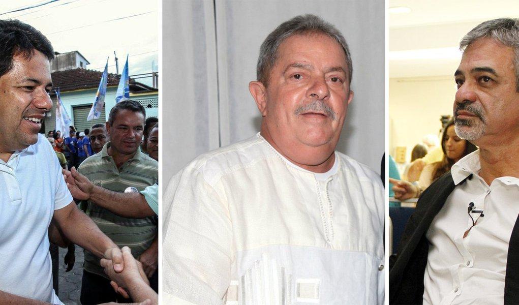 Aliados e adversários surfam com Lula e Dilma