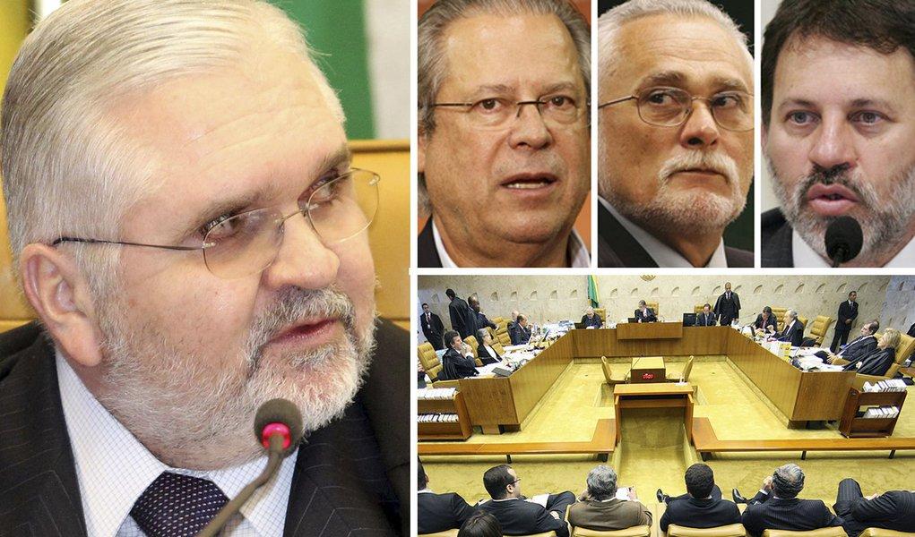 Ministros do STF veem falhas na peça de Gurgel