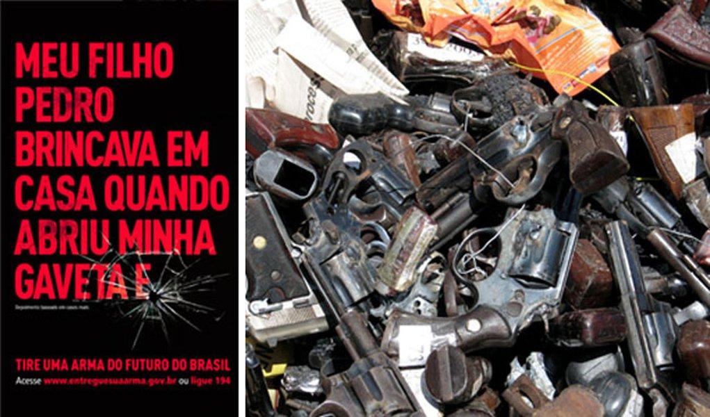 São Paulo tem semana do desarmamento