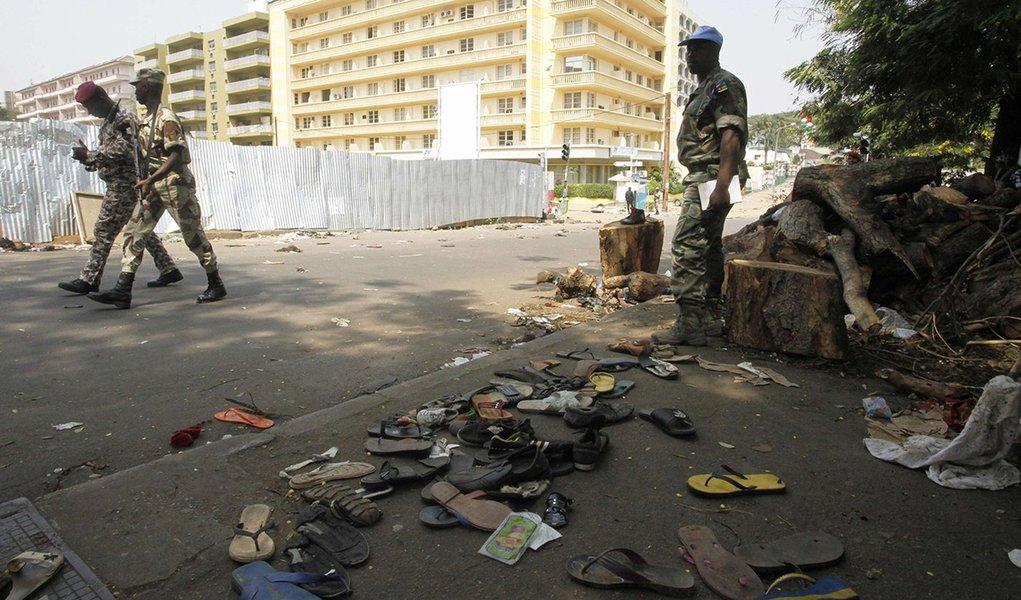 Incidente no Réveillon vitima 60 na Costa do Marfim