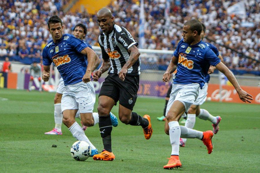 BELO HORIZONTE/ MINAS GERAIS / BRASIL  (21.09.2014) Atlético x Cruzeiro - no estádio Mineirão - Campeonato Brasileiro 2014 - foto: Bruno Cantini