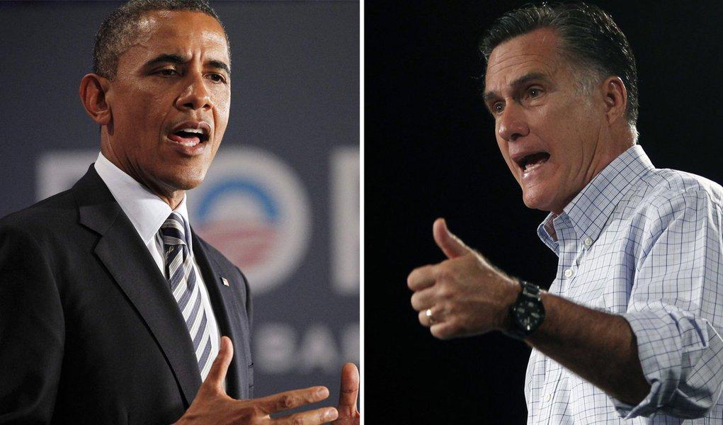 Obama e Romney trocam farpas na disputa por Estados-chave
