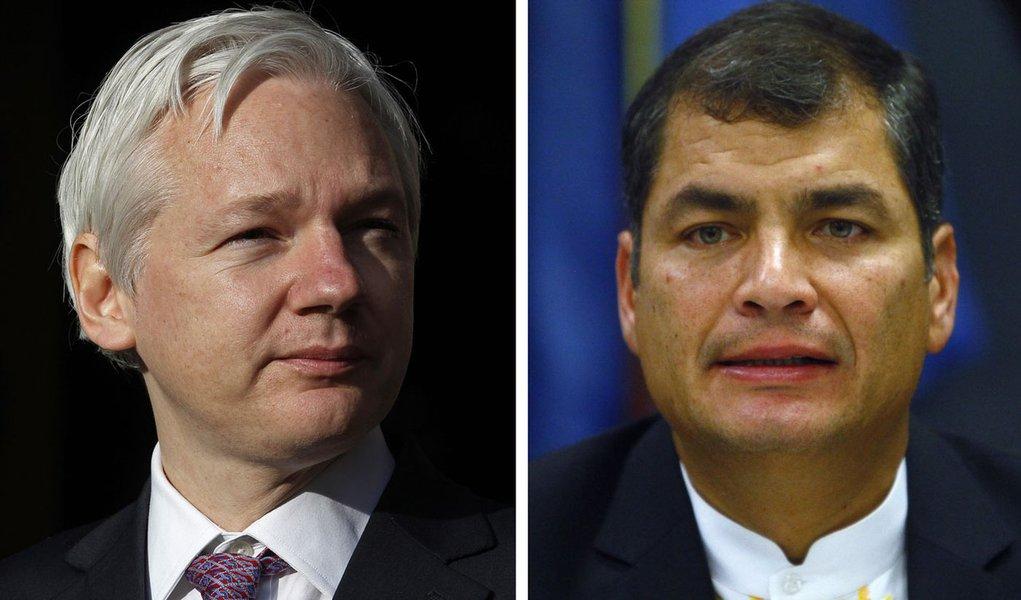 Inglaterra ameaça invadir embaixada do Equador
