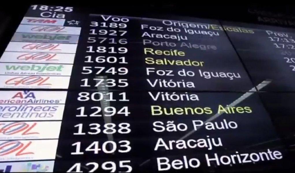 Vídeo da Infraero mostra a rotina dos aeroportos do país