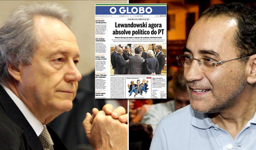 Tribunal do Globo condena Ricardo Lewandowski