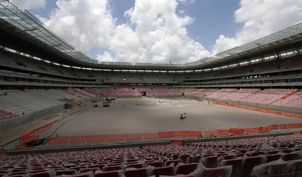 Arena PE entra em fase final de construção