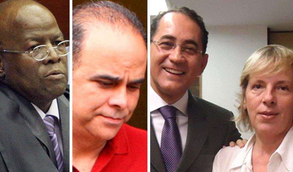 Barbosa prega quatro crimes sobre João Paulo