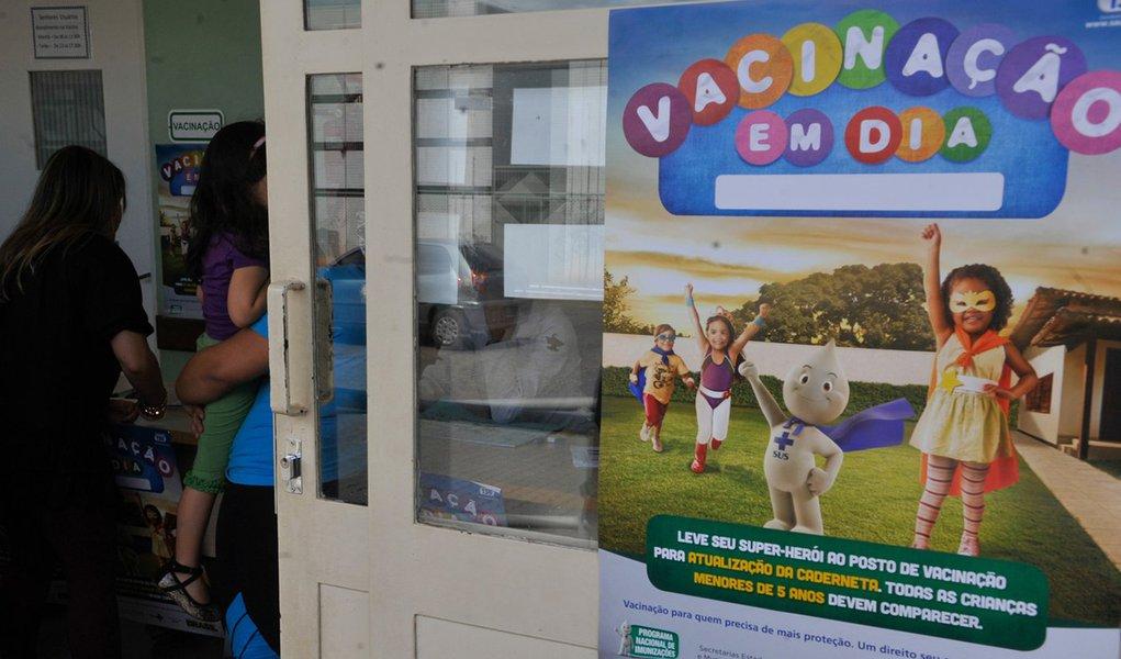 1,1 milhão de crianças atualizaram vacinas