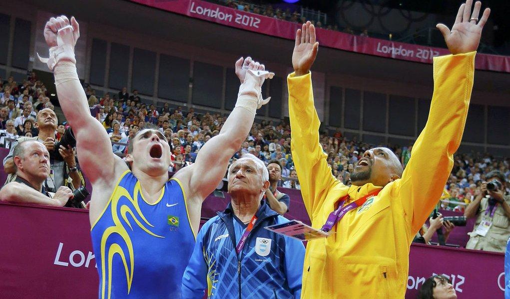Brasil mostra força: Zanetti é ouro nas argolas