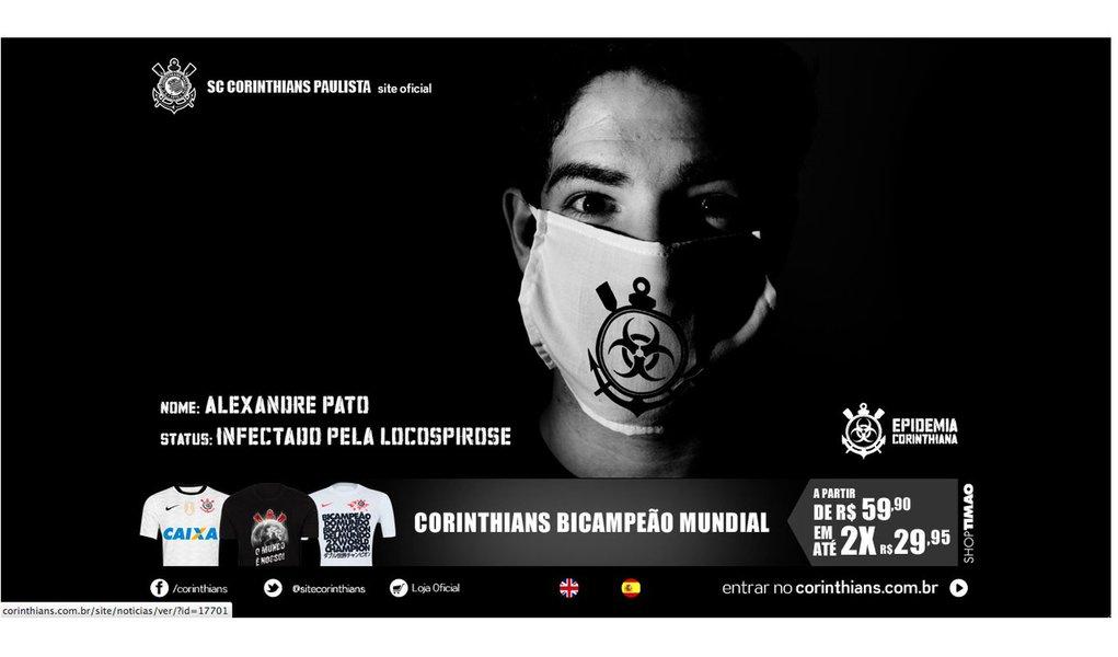 Corinthians fecha com Milan e anuncia Pato