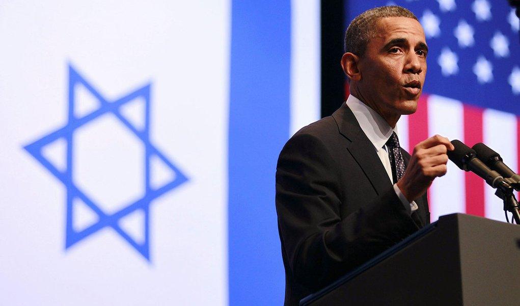 Em Israel, Obama defende Palestina