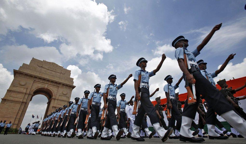 Índia festeja 65 anos de independência