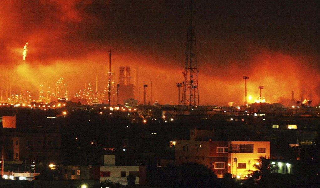Explosão de gás mata 24 na Venezuela