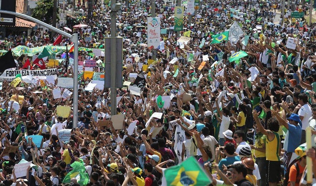 Manifestações nas ruas são aprovadas por 89%