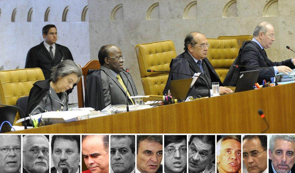 Barbosa culpa Pizzolato e Valério por peculato