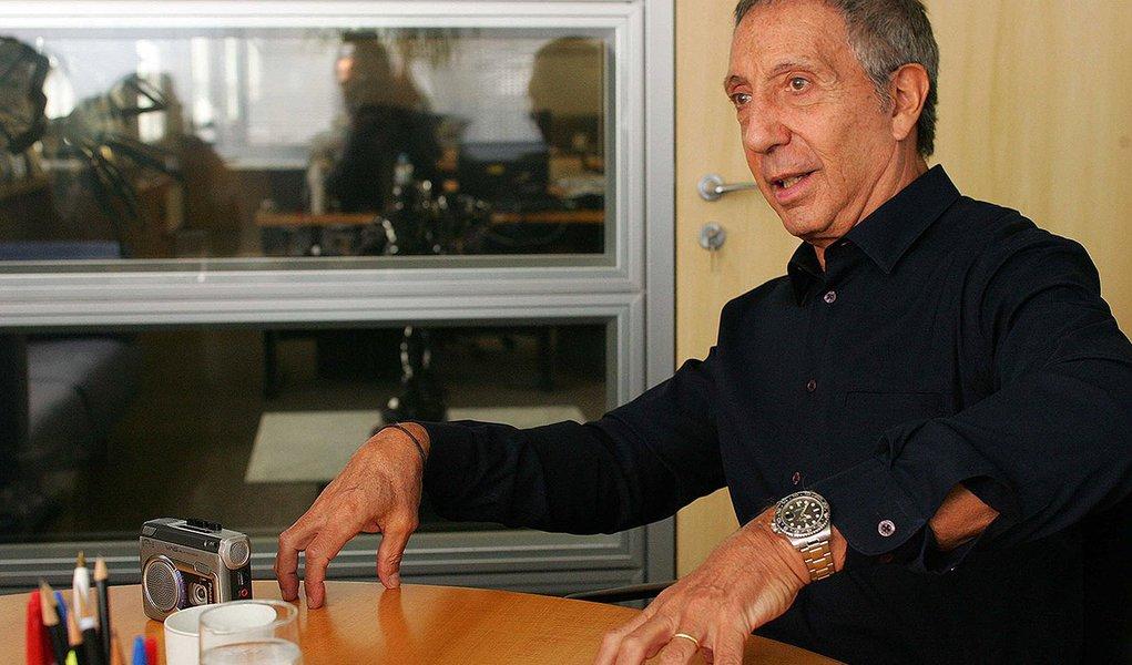 SAO PAULO-SP 9.6.2009 - ECONOMIA - ABILIO DINIZ - O empresario Abilio Diniz, dono da rede Pao de Acucar, em seu escritorio na Av. Brigadeiro Luiz Antonio. Foto FILIPE ARAUJO/AE