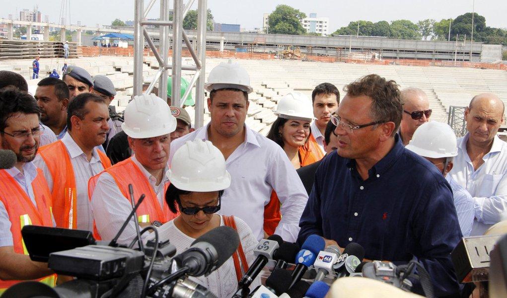 Fifa aprova obras da arena de Manaus