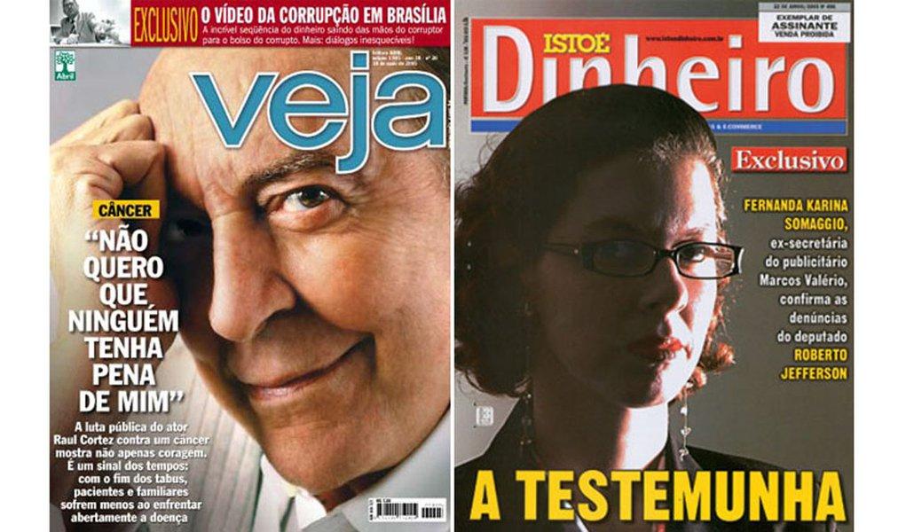 A história do mensalão por trás da cortina da mídia