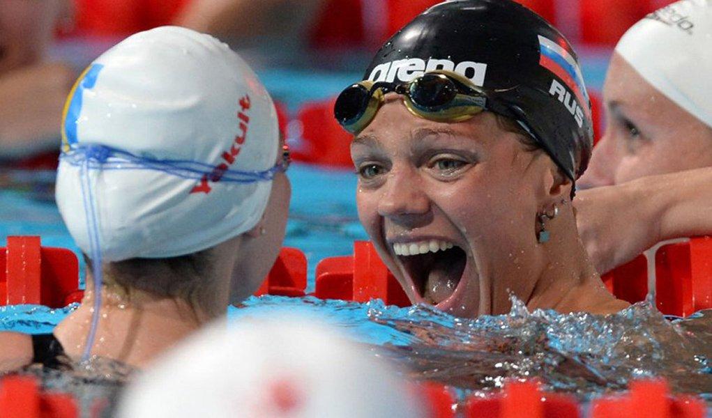 Russa bate recorde mundial dos 50m