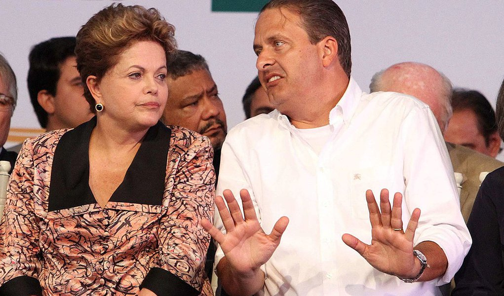 Eduardo critica vaia de prefeitos a Dilma