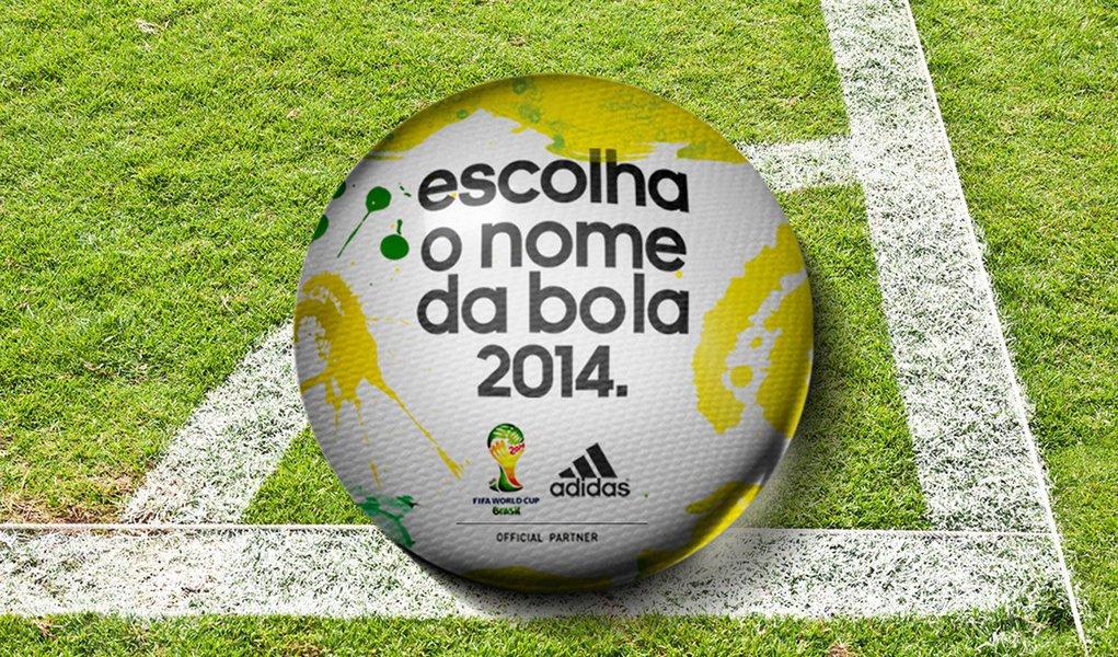Fabricante lança votação para o nome oficial da bola da Copa