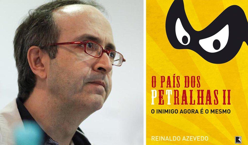 Reinaldo Azevedo: novo livro, mesmo inimigo