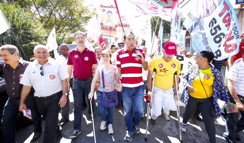 João Paulo diz hoje adeus à candidatura de Osasco