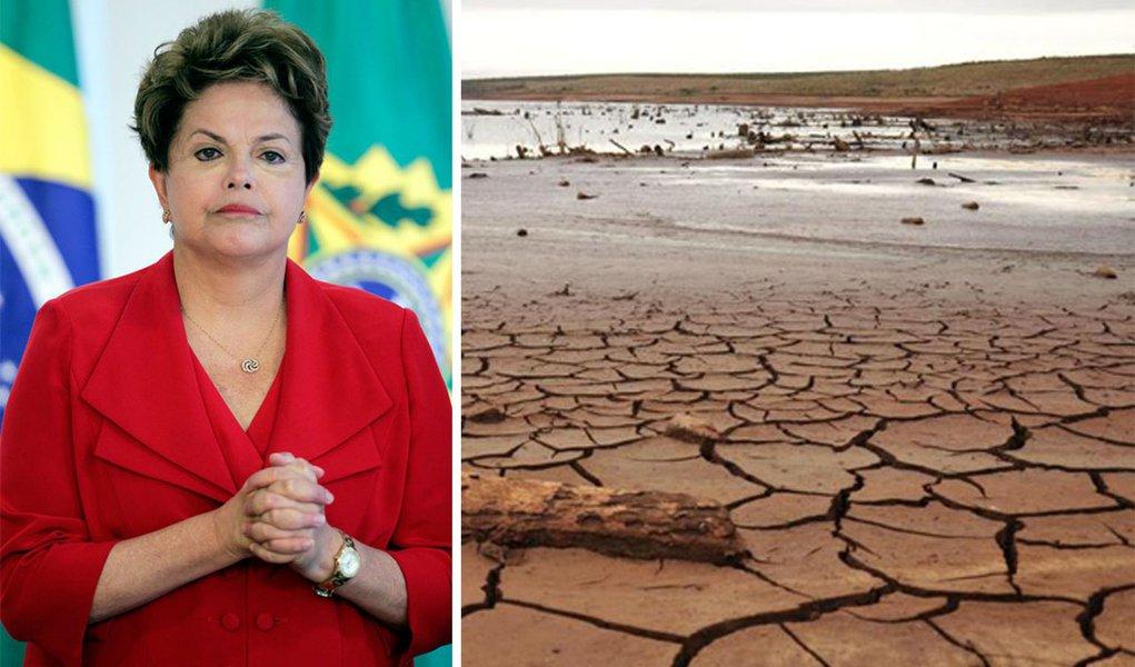 Dilma anuncia R$ 9 bilhões para combater a seca
