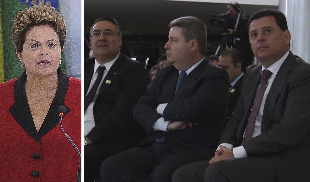 Dilma anuncia verba para infraestrutura em Goiás