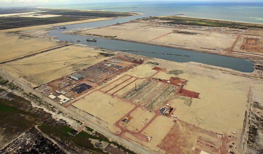 Canal do terminal onshore, TX2, já está com 4,8 km de extensão