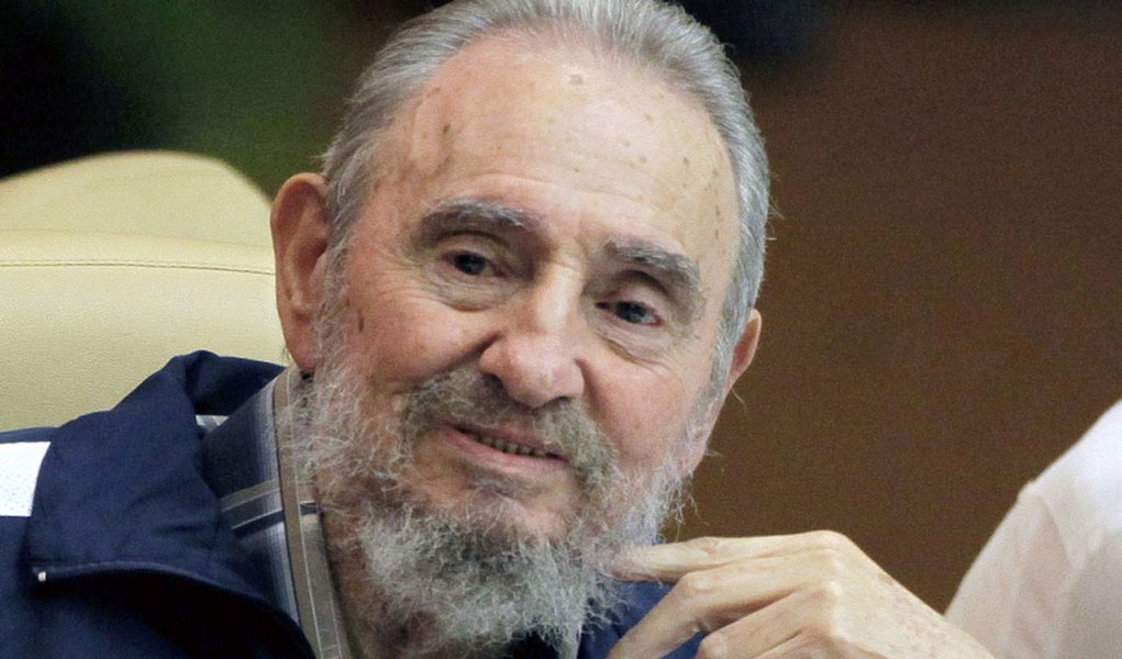 Fidel Castro makes a surprise appearance at the 6th Communist Party Congress in Havana, Cuba, Tuesday April 19, 2011. Cuba's President Raul Castro was named first secretary of Cuba's Communist Party on Tuesday, with Fidel not included in the leadership fo